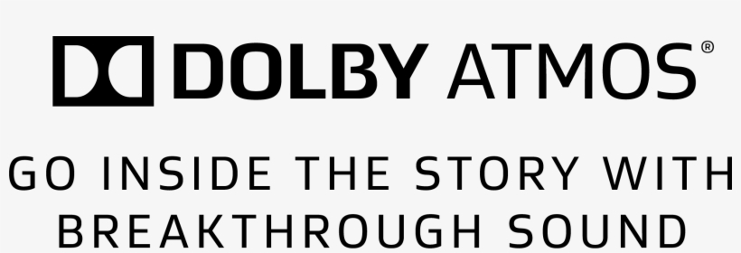 Dolby Atmos - Logo Dolby Atmos Transparent PNG - 1807x531