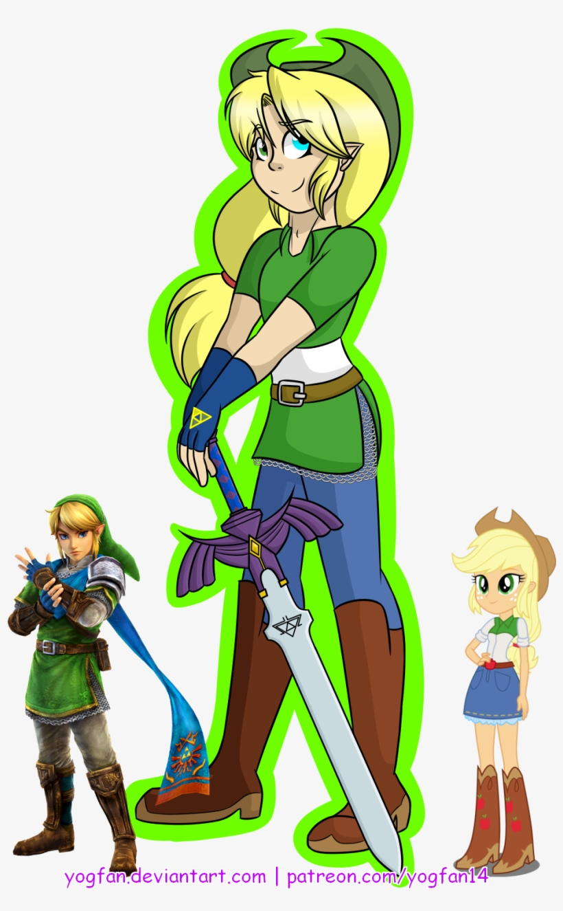 Apple Applejack Artist Legend Of Zelda Link Hyrule