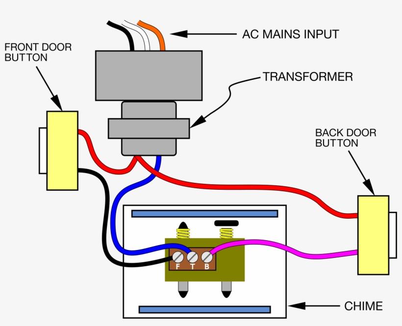 doorbell wiring diagram 16  diagram of door bell