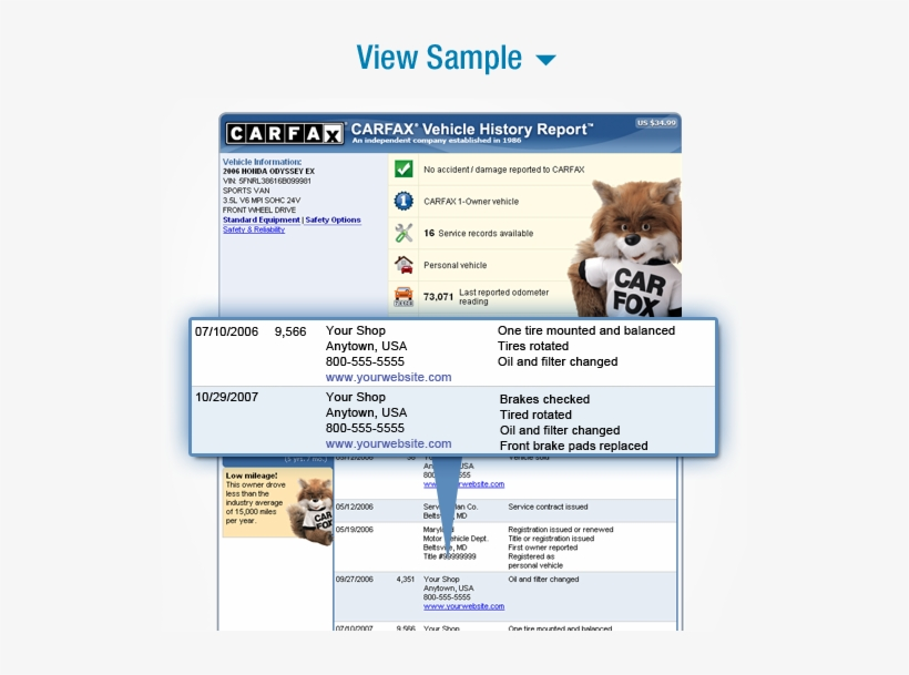 Carfax Customer Service >> Attract More Customers With Your Shop On Carfax Reports
