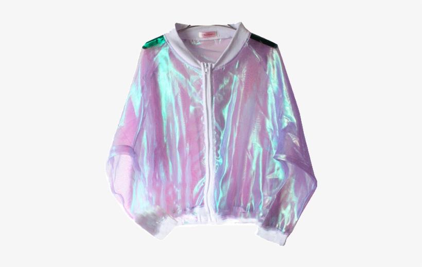 23e4a43a5b9 Itgirl Shop Laser Bat Sleeve Jacket Aesthetic Apparel