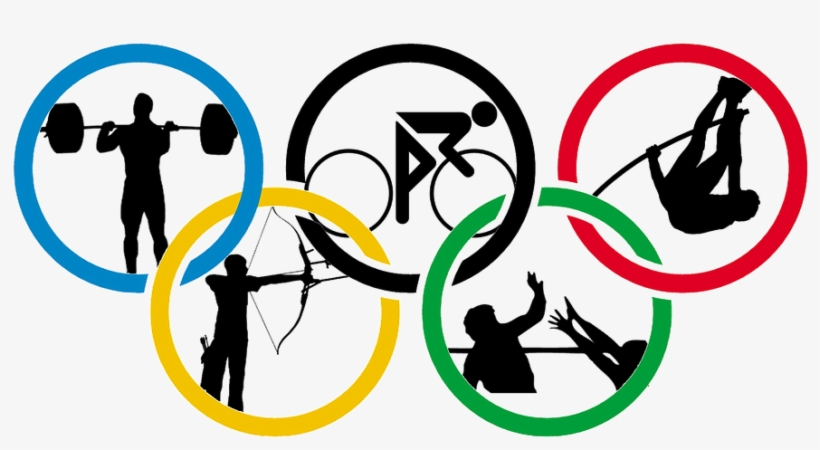 Olympic Logo With Sports - Summer Olympic Games ...