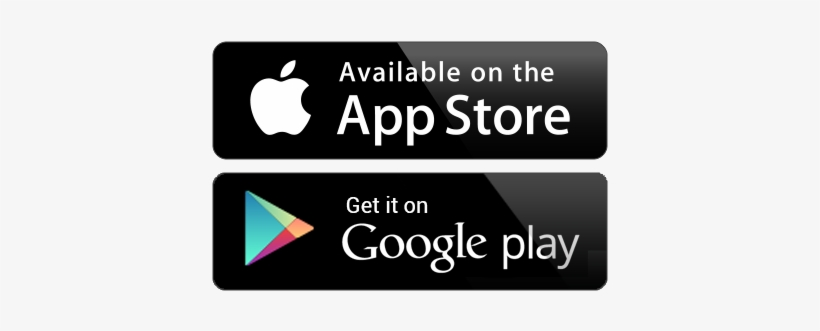 Online Web Presence - Play Store And App Store Icons