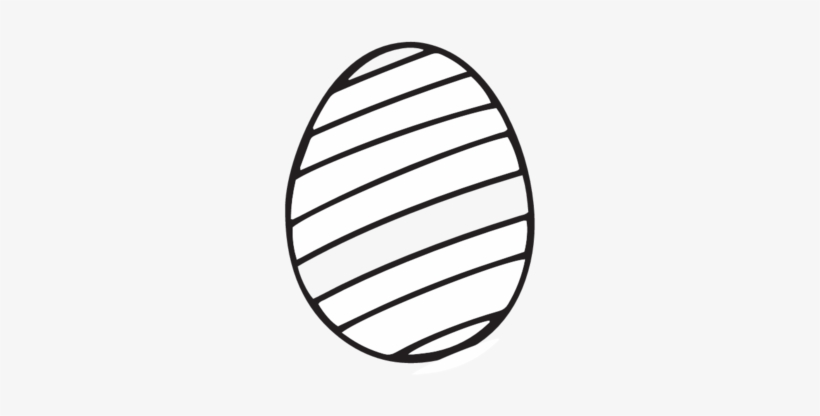 Blank Easter Egg Coloring Page - Easy Easter Egg Coloring ...