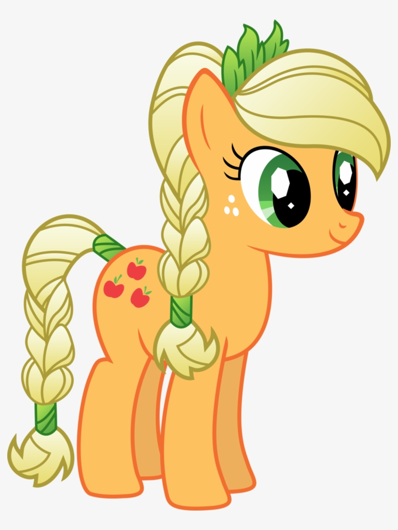 Applejack Drawing Magical Gambar Applejack My Little Pony Transparent Png 790x1010 Free Download On Nicepng