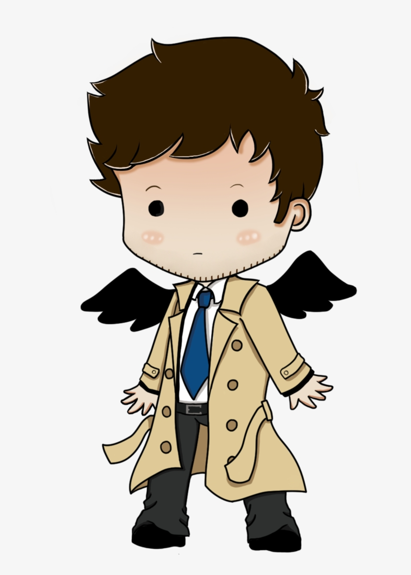 Castiel Dean Winchester Sam Winchester Chibi Drawing Sam