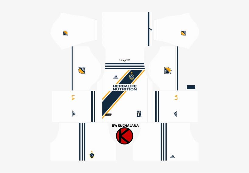 La Galaxy Kits - Spain Kit Dream League Soccer Transparent