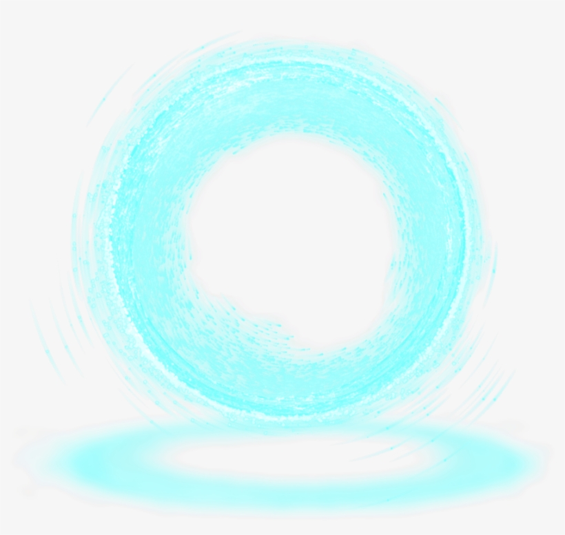 Portal Particles Particle Neon Circle - Particle Transparent PNG