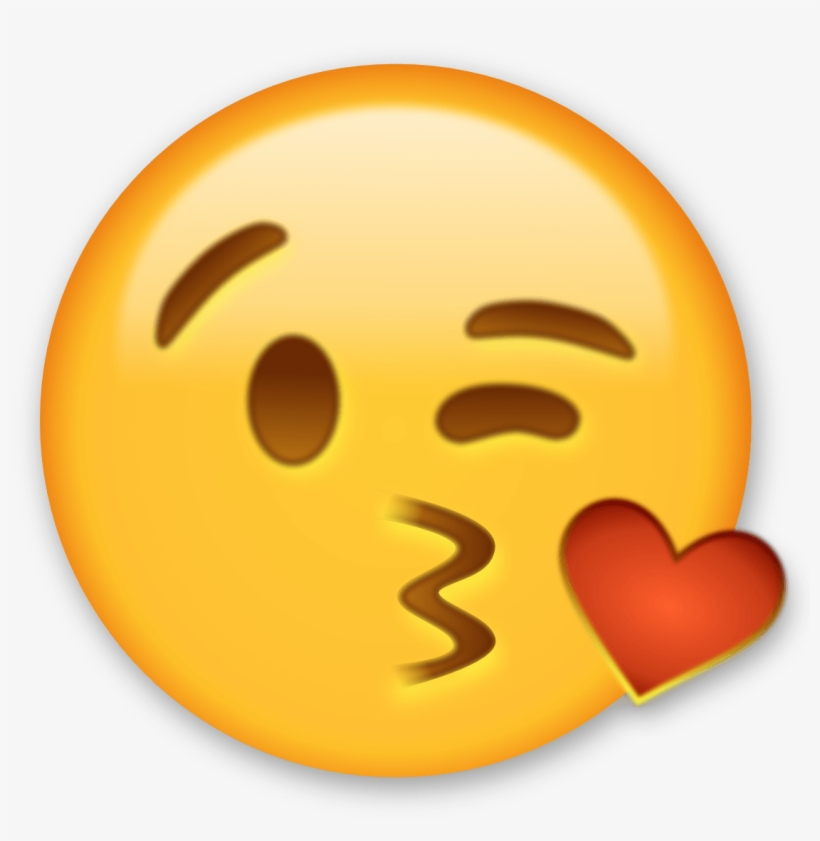 Emoji Wallpapers - Kiss Heart Emoji Png