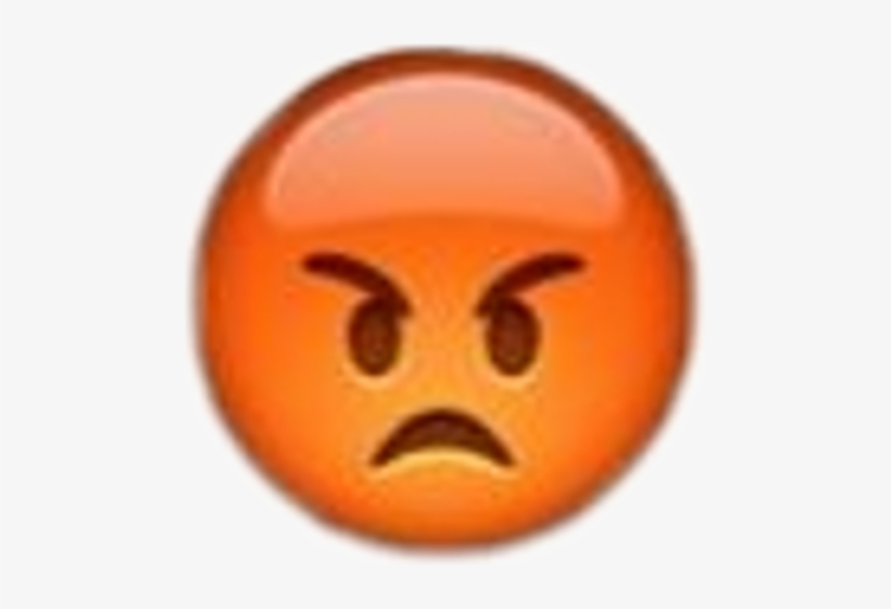 Collectible Fridge Magnet Emoji Angry Pouting Face Transparent Png