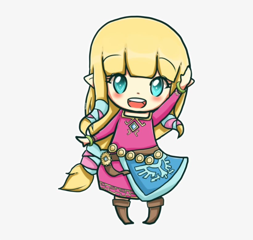 Cute Fanart And Kawaii Image Legend Of Zelda Chibi Zelda
