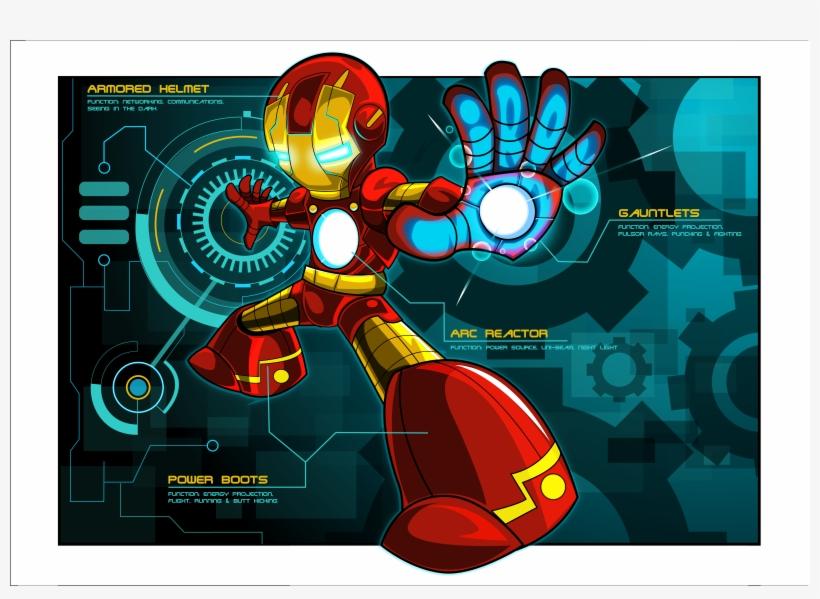 Iron Man Gauntlet Comic