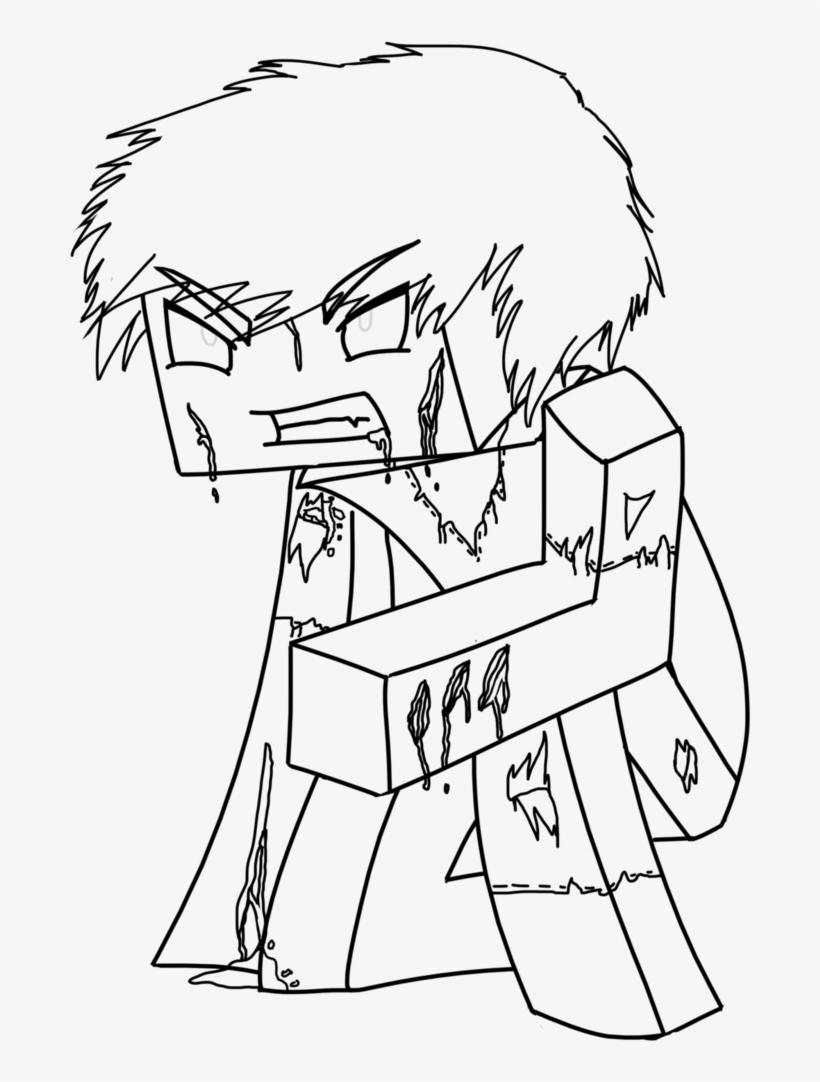 Minecraft Drawing Steve At Getdrawings Minecraft Herobrine Para