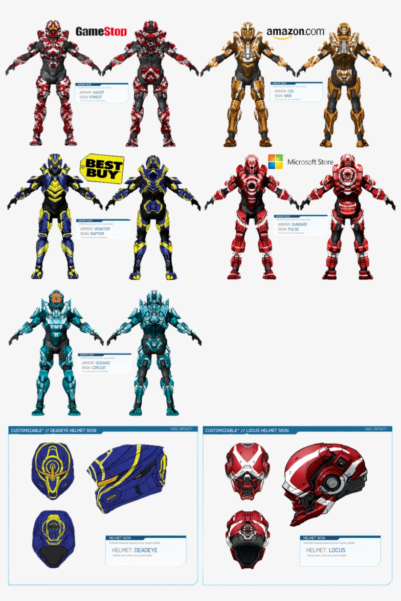 Armor - Types Of Halo Helmets Transparent PNG - 1103x1600