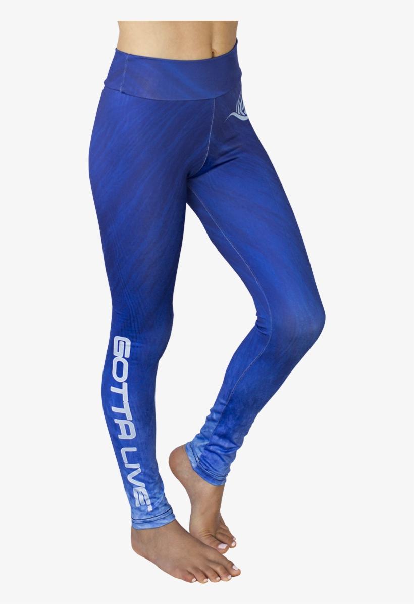 8bad1151f9a10 Girls Blue Wave Leggings - Leggings Transparent PNG - 1200x1286 ...