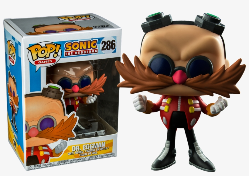Eggman Funko Pop Vinyl Figure Funko Sonic Transparent Png 1500x993 Free Download On Nicepng