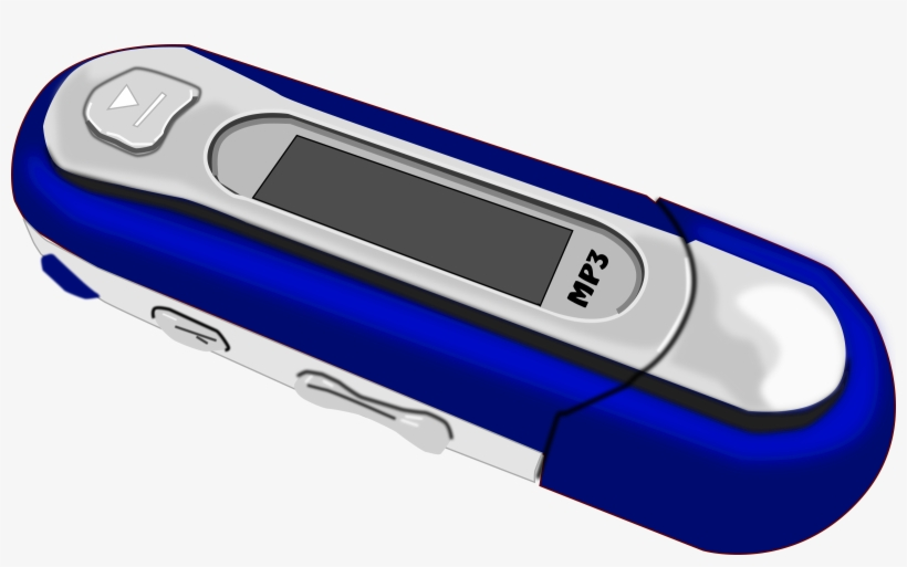 A Blue Old Mp3 Player - Mp3 Transparent PNG - 800x462 - Free