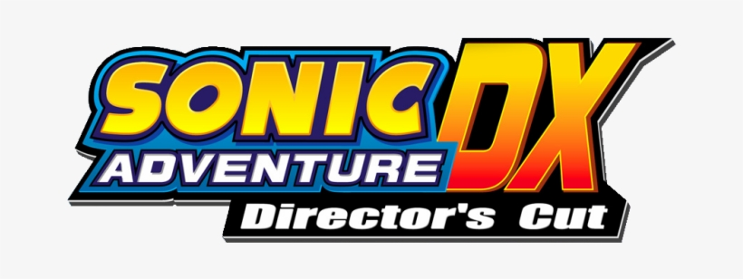 Sonic Adventure Dx Director S Cut Logo Sonic Adventure Dx Logo Transparent Png 700x250 Free Download On Nicepng