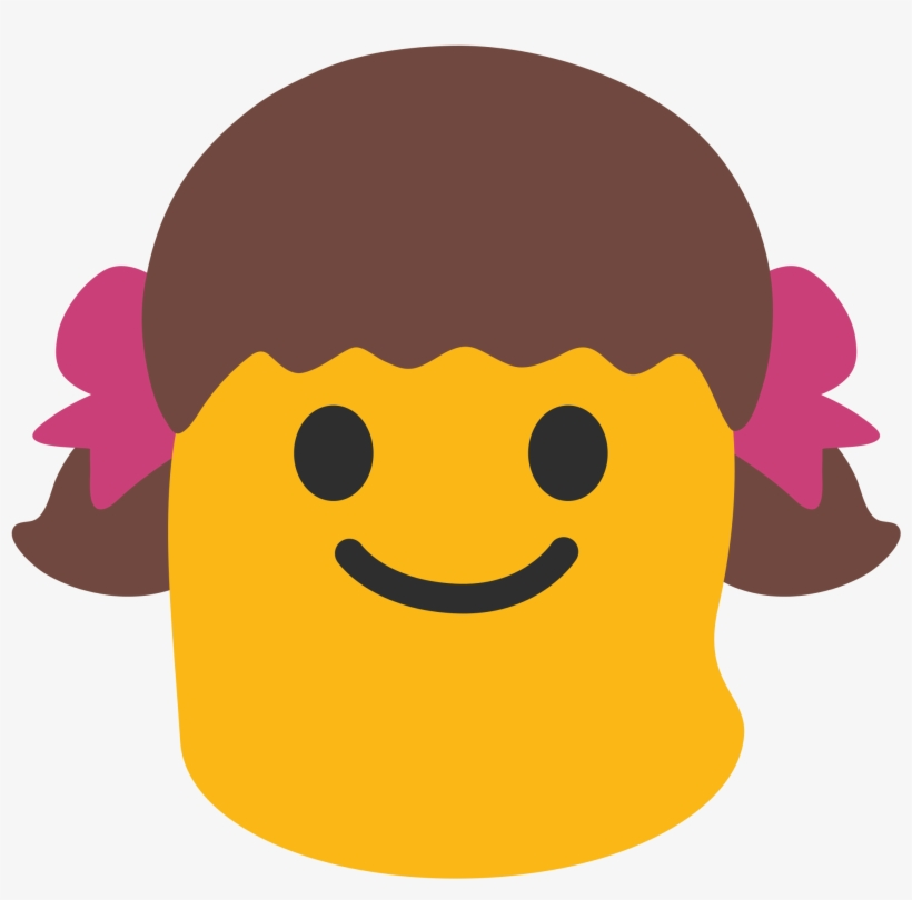 Android Girl Emoji Png Transparent PNG - 2000x2000 - Free