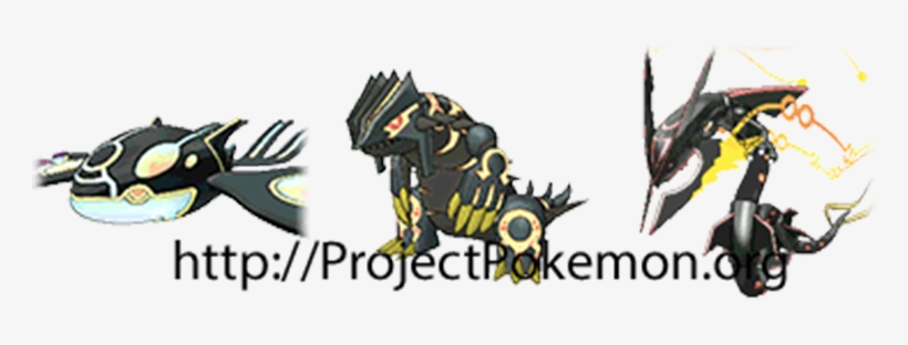 Shiny Primal Groudon Primal Kyogre Mega Rayquaza - Shiny Groudon And