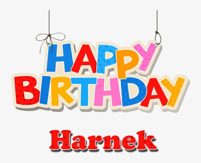 Free Png Harnek Happy Birthday Balloons Name