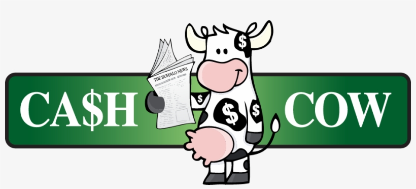 Cow With Money Spots Milk Money Holy Cow Vector Art Cash Cow Transparent Png 927x376 Free Download On Nicepng