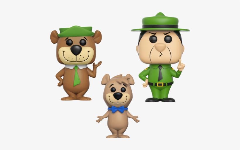 Yogi Bear Boo Boo Ranger Smith Funko Pop Animation Yogi Bear Exclusive Vinyl Figure Transparent Png 560x560 Free Download On Nicepng
