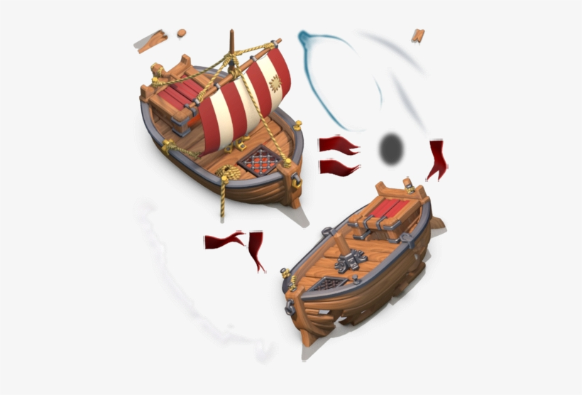 clash of clans update  clash of clans boat png