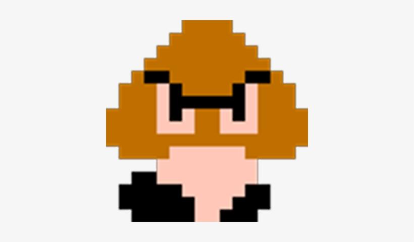Squashed Goomba - Super Mario Goomba 8 Bit Transparent PNG