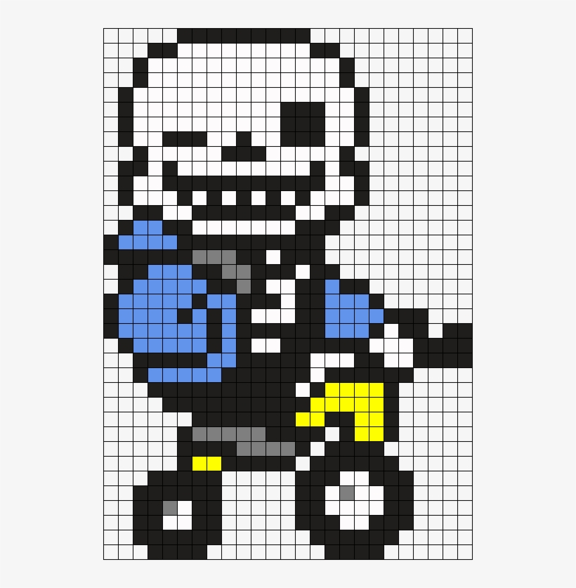 Sans On A Tricycle Perler Bead Pattern Bead Sprite