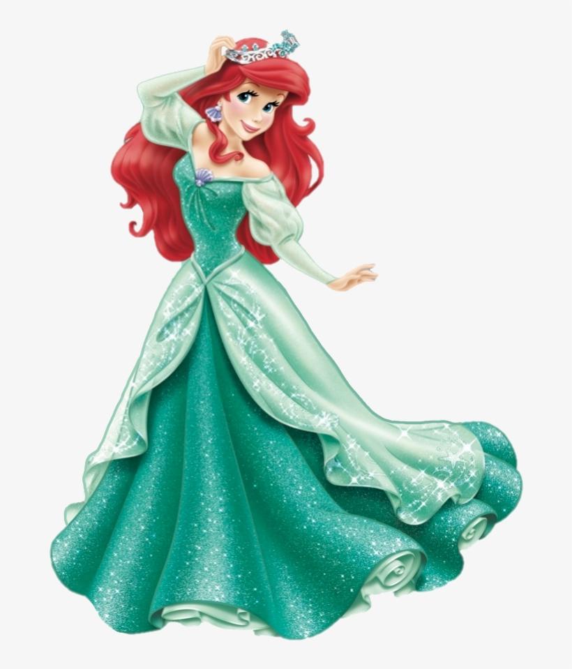 Shoes Clipart Cinderella Disney Princess Ariel Crown Transparent