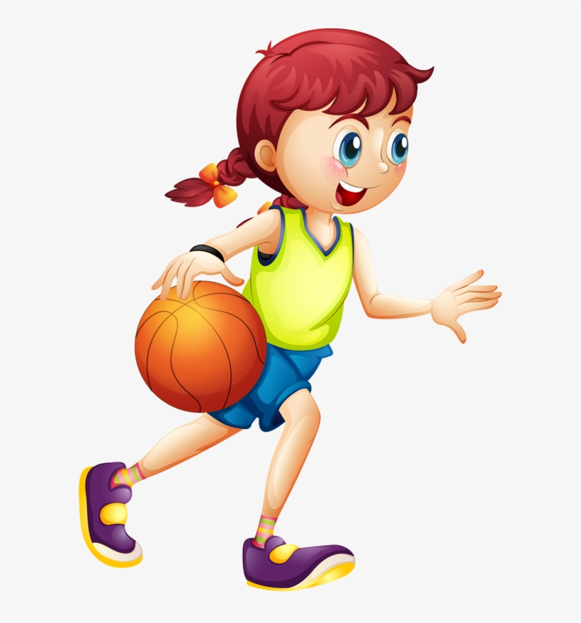 Female Basketball Players Stock Illustration - Download Image Now - iStock