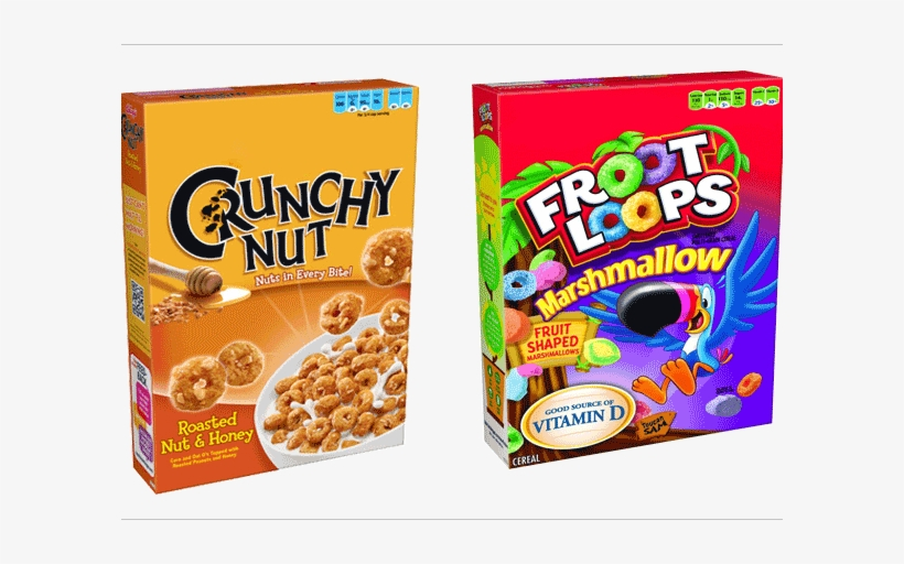 Png Freeuse Download Cereal Box Clipart - Froot Loops Cereal