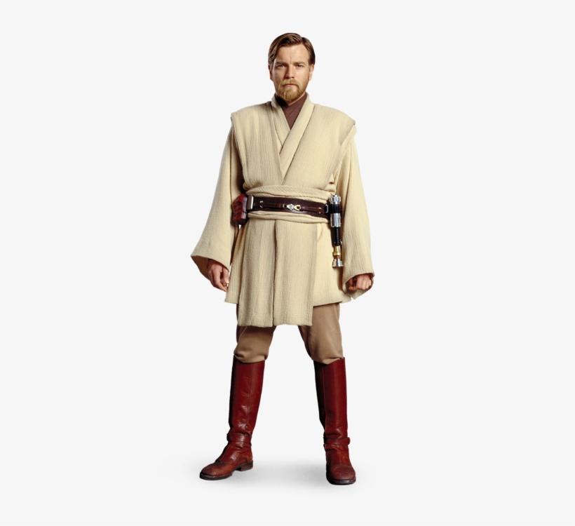 Obi Wan Kenobi Revenge Of The Sith Costume Transparent Png 379x682 Free Download On Nicepng