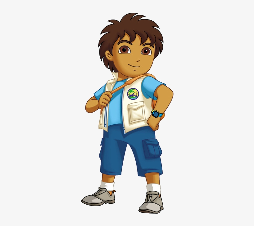 Diego Dora The Explorer Dora Diego Characters Transparent Png