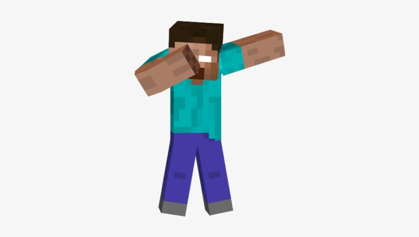 Minecraft Dab Png Steve Minecraft Dab Transparent Png 306x400 Free Download On Nicepng