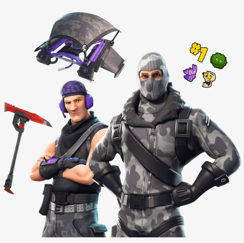Fortnite Twitch Prime Skin Png