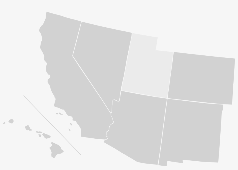 South Western Us Map Blank Blank Us Map Southwest Region