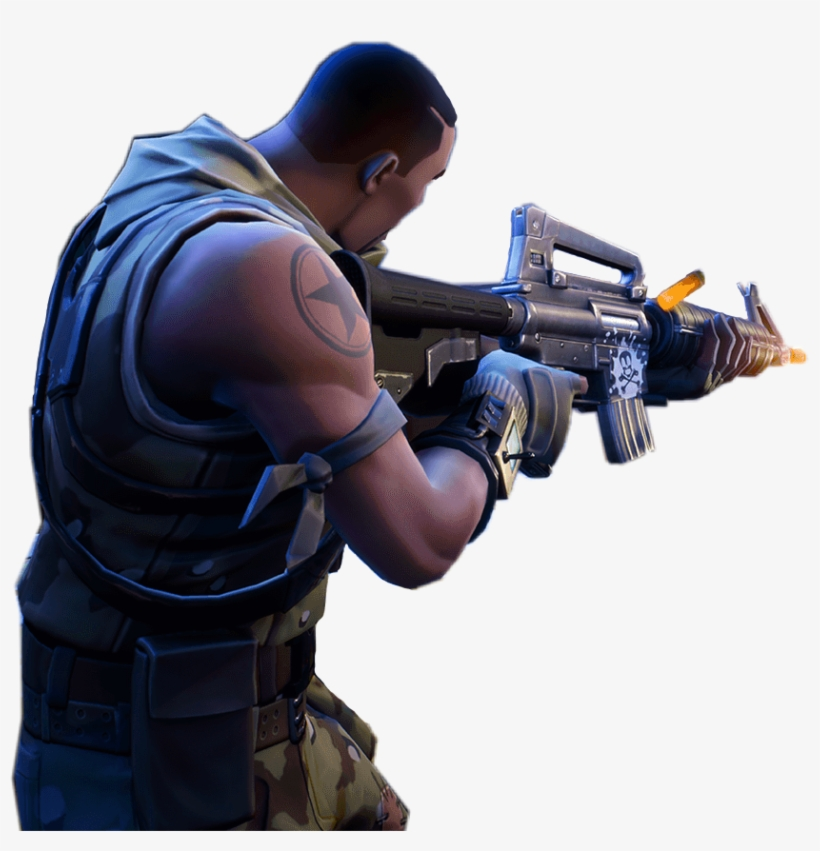 png transparent library xbox console playstation pc fortnite person shooting png - how to shoot in fortnite on xbox
