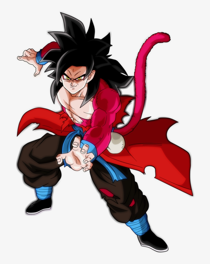 Goku Xeno Ssj4 By Andrewdragonball Xeno Goku Watch Goku Transparent Png 806x991 Free Download On Nicepng