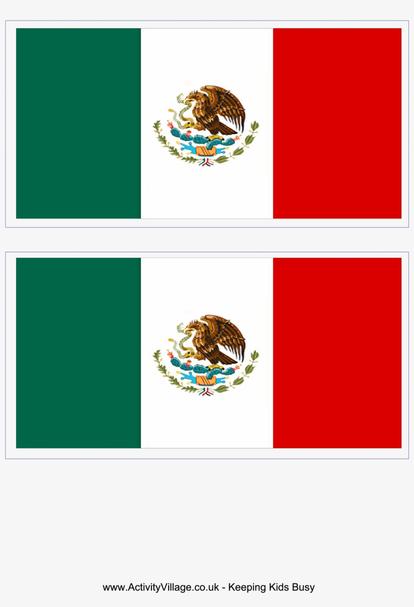 photo about Mexico Flag Printable named Mexican Flag Shots Towards Print - Household And Trip Flags 3x5