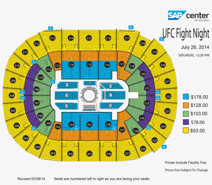 View Seating Chart - Mma Sap Center Seating Transparent PNG ... on sap center tickets, sap center san jose, sap center twitter, sap center santa clara, sap concert seating, sap center suites, sap center hotels, sap seating-chart hockey, sap theater seating, sap center events, sap center parking, sap center sharks seating-chart, sap center schedule,