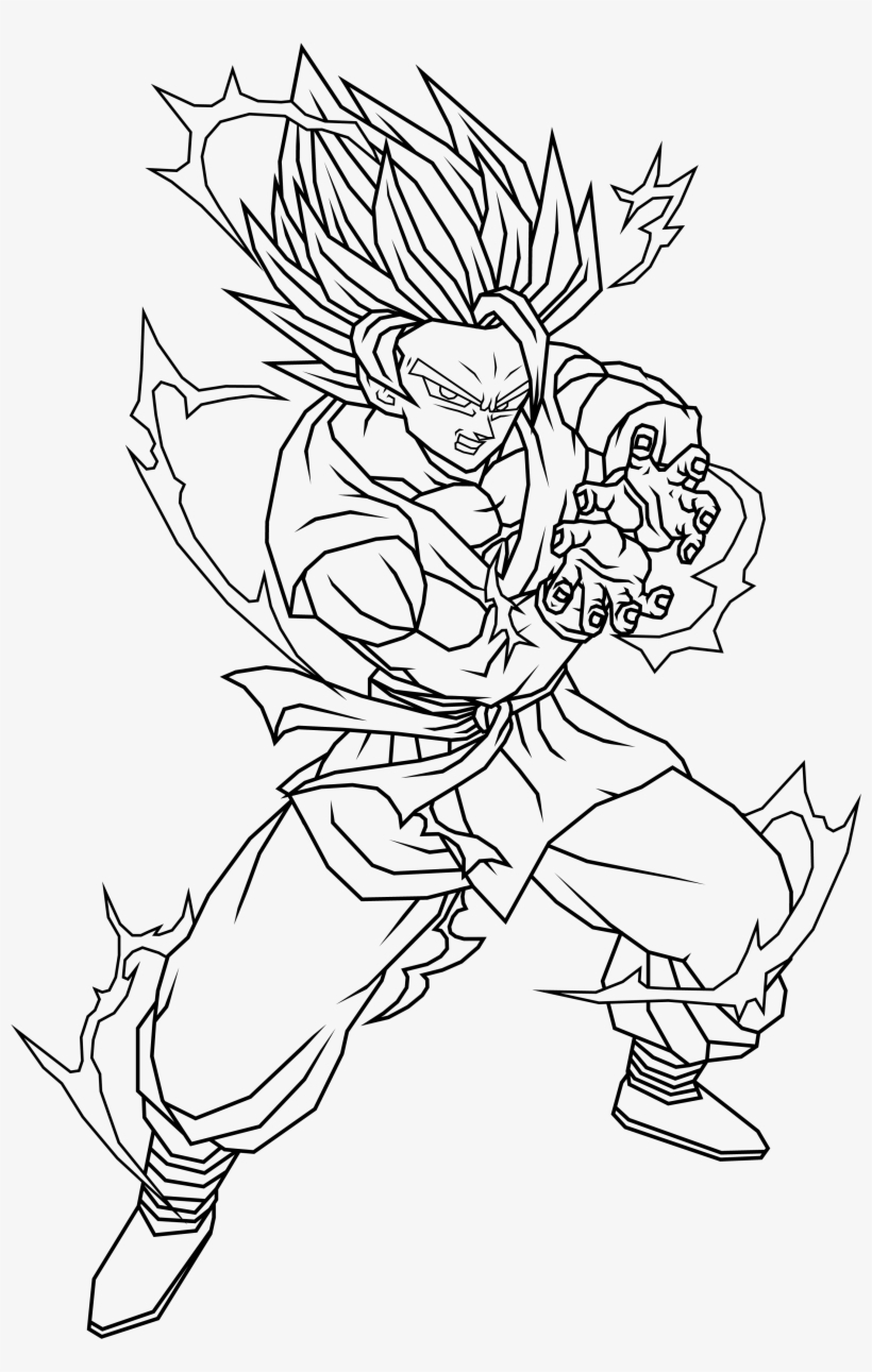 Collection Of Free Broly Pencil Download On - Imagenes De ...