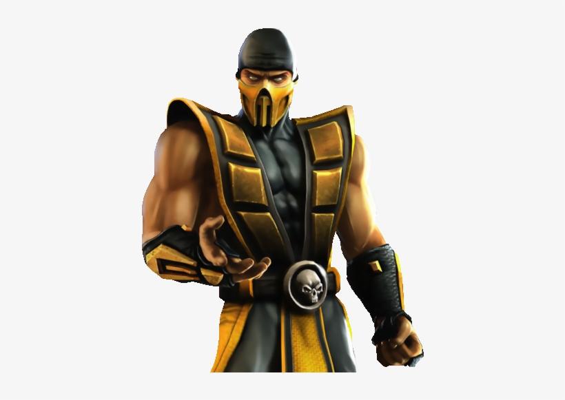 Mortal Kombat Characters Fighting Transparent PNG - 489x513 - Free