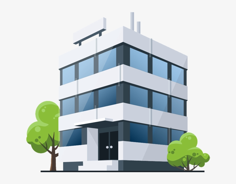 Cartoon Building Png Office Building Cartoon Transparent Png