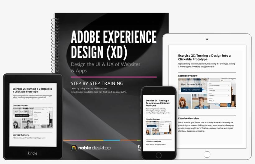 Adobe Xd 2x - Web Development Training Book Transparent PNG