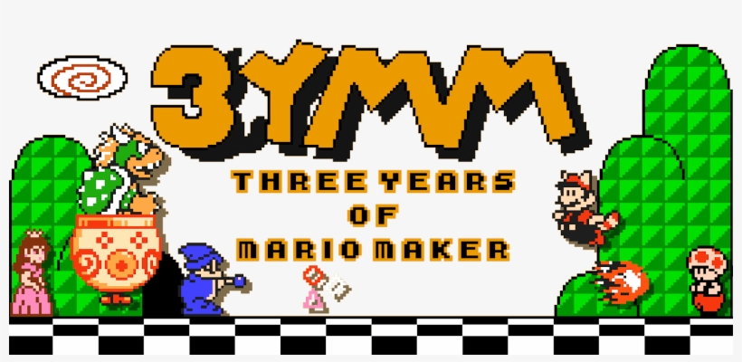 Mario Maker - Super Mario Bros 3 Transparent PNG - 1600x704 - Free