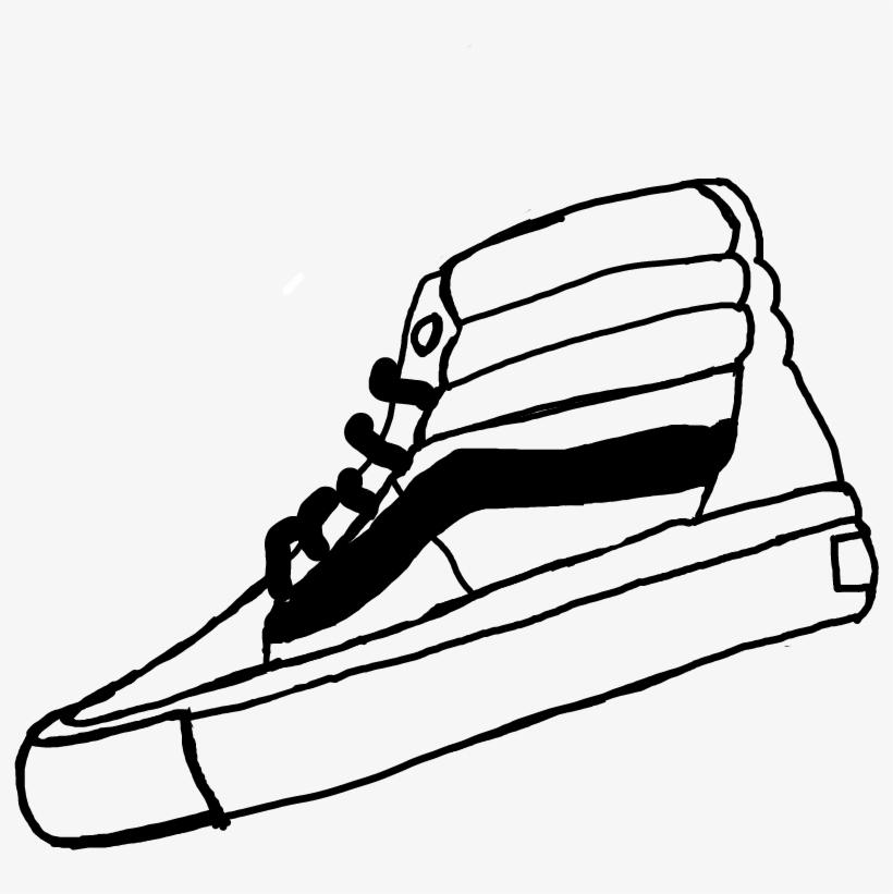 Quick Sketch Vans Hypebeast Supreme , Draw Hypebeast Black