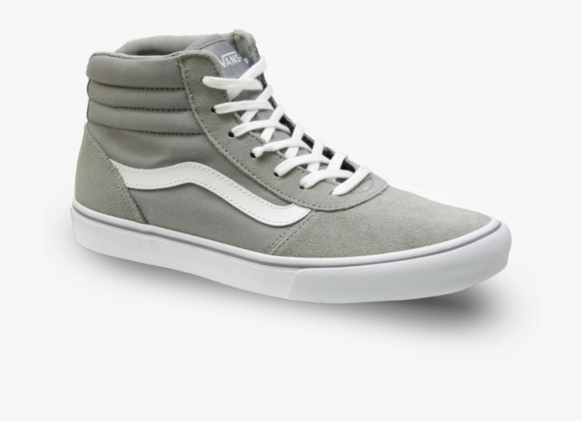 1f5ba9e4ae90 Vans Maddie Hi Grey White - Skate Shoe Transparent PNG - 700x700 ...