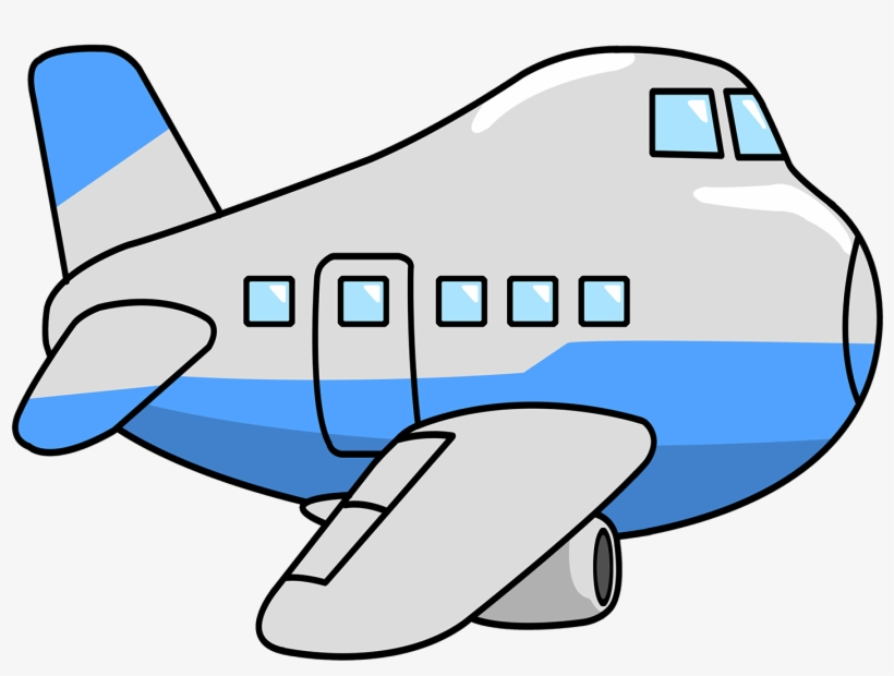 Airplane printable. Clipart coloring pages transparent